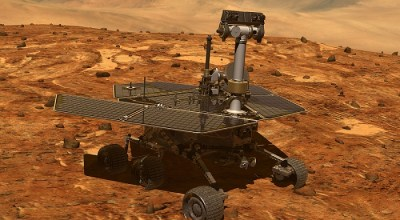 Artist rendition of Opportunity on Mars. | NASA