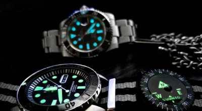 Photo of the day | Rolex Submariner & Seiko Sea Urchin