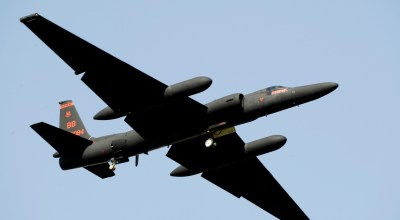 An U-2 Dragon Lady takes off from Osan Air Base, South Korea. The spy plane flies at altitudes above 70,000 feet, which poses unique risks to its pilots. (U.S. Air Force photo/Staff Sgt. Brian Ferguson)
