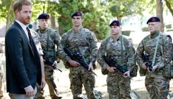 The UK sends commandos, funds to Ukraine