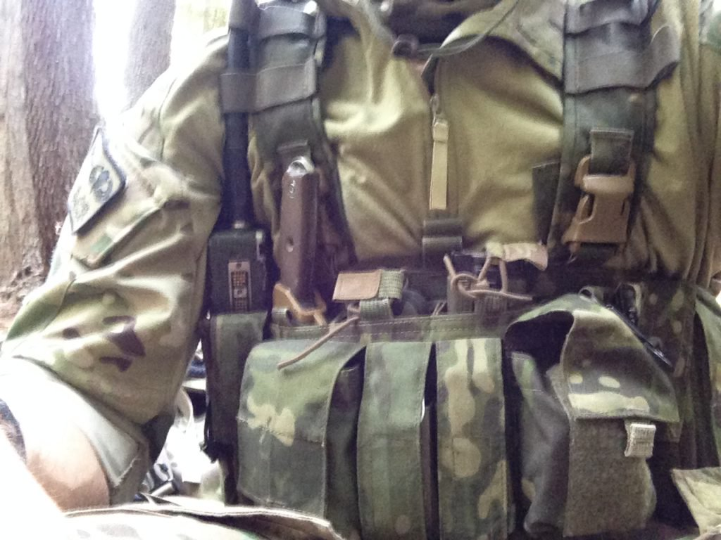 Combat Survival and RECCE Chest Rig Setup