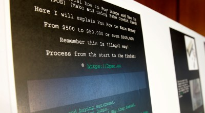 A screenshot of a tutorial posted online by Russian hacker Roman Seleznev on how to steal credit card data (AP).
