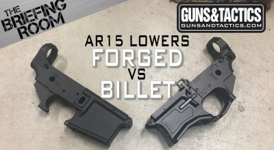 AR-15 Lowers | The difference between Forged and Billet