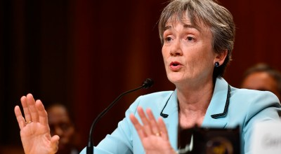 Secretary of the Air Force Heather Wilson testifies before the Senate Appropriations Committee for Defense June 21, 2017, in Washington, D.C.  (U.S. Air Force photo/Scott M. Ash)