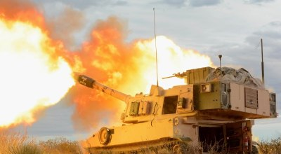 The Army's new long-range precision fires modernization effort aims to increase the range of cannon artillery. (Photo Credit: U.S. Army photo by Spc. Gabrielle Weaver)