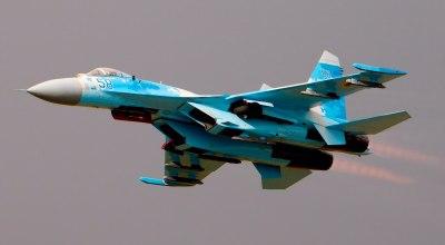 Ukrainian Su-27 courtesy of WikiMedia Commons