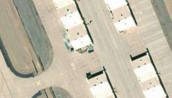 Censored satellite images prove the US is keeping secret aircraft in Nevada... Here are some possibilities
