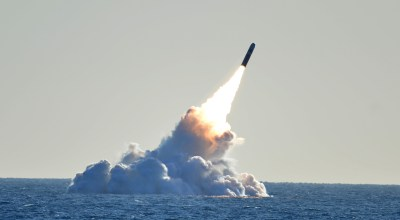 Trident missile firing courtesy of the US Navy