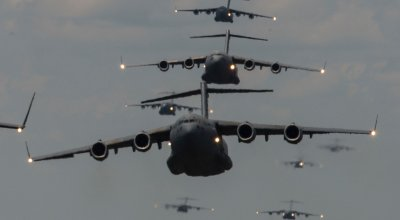 The Pic of the Day: A sky full of C-17s