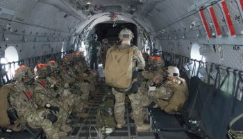 1st SFG, Abn Special Ops Test Directorate Test Static Line Parachutes