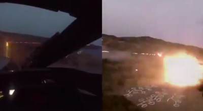 Watch: Insane footage of Turkish attack helicopters unloading 20mm cannons on target