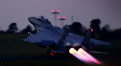 The Pic of the Day: Taking off in an F-15E