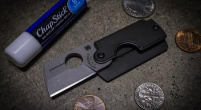 "Spyderco Dog Tag Folder: Ultimate ""carry anywhere"" folding knife"