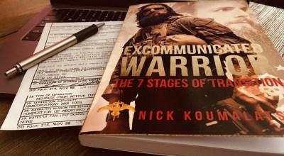 My Thoughts on 'Excommunicated Warrior' by Nick Koumalatsos