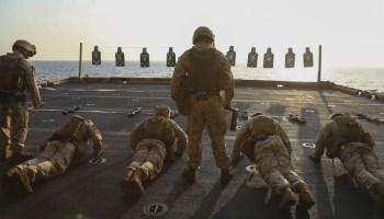 Marine Corps birthday PT challenge