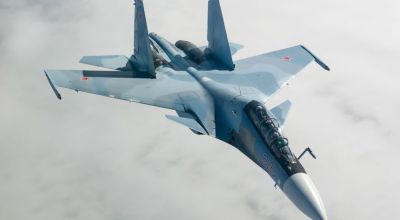 Watch: Russia's 'Flanker' acrobat, the Su-30SM, in action