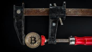 Embattled Bitcoin continues nose dive -- altcoins follow suit