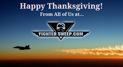 Happy Thanksgiving from Fighter Sweep