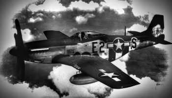 The time a WWII fighter pilot intercepted a UFO over North Dakota in his P-51 Mustang