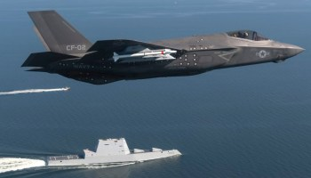 War with China could mean 'hot loading' F-35Bs in the field without returning to a carrier