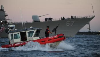 42,000 members of the US Coast Guard will go without pay if shutdown extends past Friday