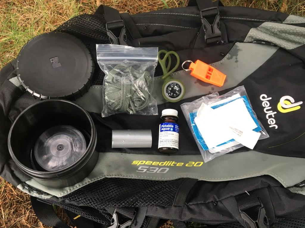My PACE Lid Loadout | Water Bottle Survival Kit