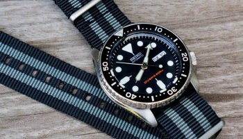 Photo of the day: Seiko SKX007, my everyday watch