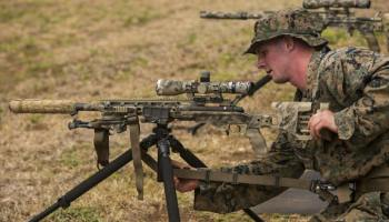USMC begins to deploy new sniper rifle