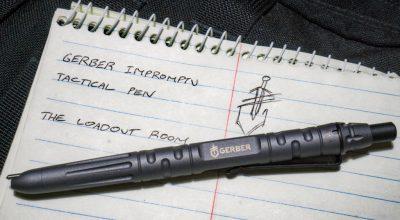 Gerber Impromptu Tactical Pen | Let's talk about EDC considerations