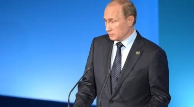 Russian President Vladimir Putin courtesy of the Kremlin