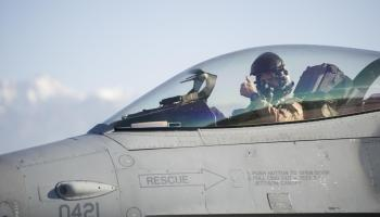 Solving the pee problem: Fighter pilots receive new high-tech urine collection devices to prevent tactical dehydration