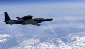 U-2 spy plane flies over California using the aviation code for 'Star Trek' USS Enterprise