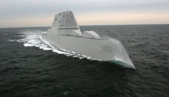 The Navy's newest Zumwalt-class destroyer carries the name of fallen Navy SEAL