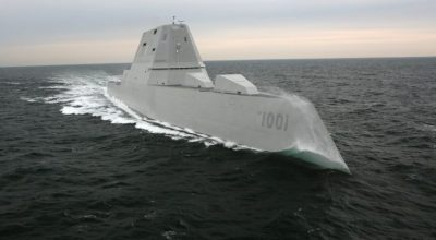 U.S. Navy photo courtesy of Bath Iron Works/Released