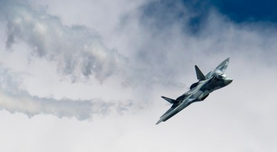Russia touts new stealth coating on its all-but-failed fifth generation fighter