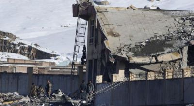 Taliban Destroys Afghan Army Building With Car Bomb, Scores Killed