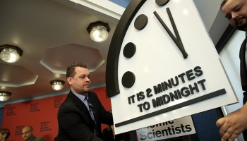 Doomsday Clock unchanged at two minutes to nuclear annihilation: report authors say no news equals bad news