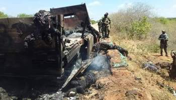 Breaking: AFRICOM airstrike wipes out 52 al-Shabaab fighters in Somalia (warning: graphic content)