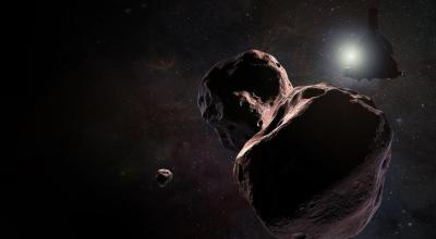 NASA's New Horizons rings in the new year with historic flyby 4 billion miles from the sun