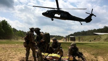 Even outside war zones, US Special Forces soldiers are regularly saving lives