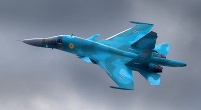 Breaking: Two Russian Su-34 fighter-bombers collide over the sea of Japan