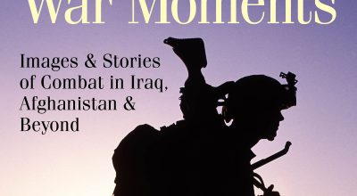Cover image of War Moments/ Photograph courtesy of Ed Darack