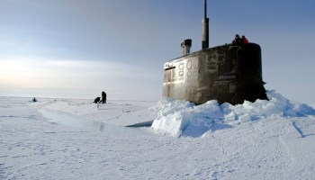 As Russia solidifies grip on the Arctic, America's no-icebreaker Navy can barely make a visit
