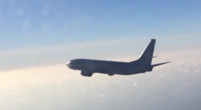 Watch: Russian Su-27 fighter intercepts US P-8A Poseidon over Baltic Sea days after US/Canada intercept of Russian bombers near Alaska