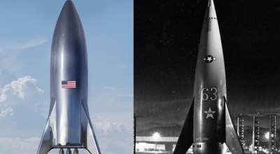 Blast from the past: Elon Musk's next rocket looks like it's straight out of 1950s sci-fi