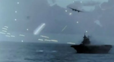 Intense WWII footage is a stark reminder of what massive naval and air battles were really like (and could be again)