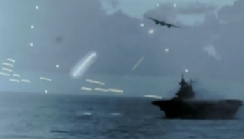 Intense WWII footage is a stark reminder of what massive naval battles were really like (and could be again)
