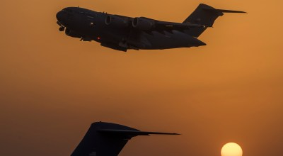 The Pic of the Day: C-17 Globemaster III takes off from an undisclosed location