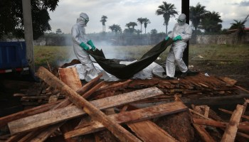 Militant group attacks Ebola treatment centers in the DRC, burns facilities to the ground