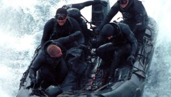 Green Beret/Delta Force Operator on Submarine Op with SEALs